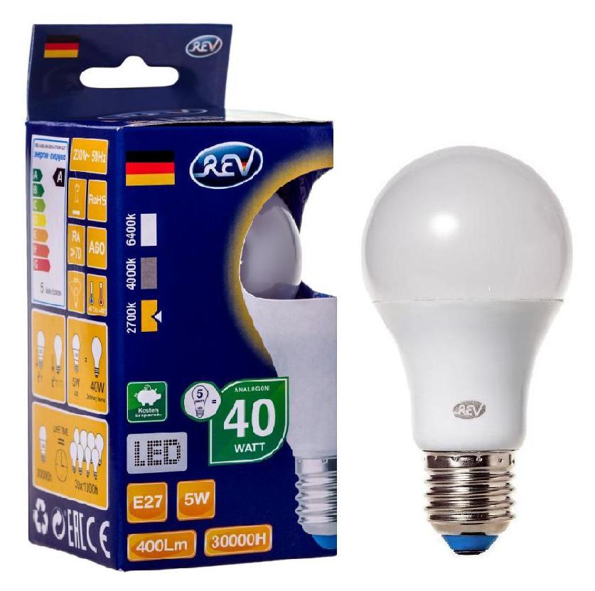 Лампа светодиодная Rev ritter 32344 0 лампочка rev led a55 e27 5w 2700k теплый свет 32344 0