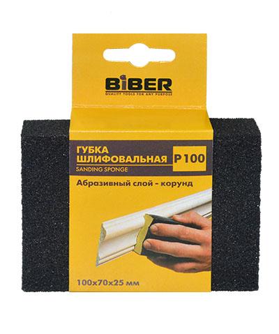 Губка шлифовальная Biber 149934