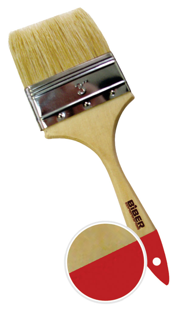 Кисть флейцевая Biber 1969 плоская кисть kraftool klassik 1 01013 25