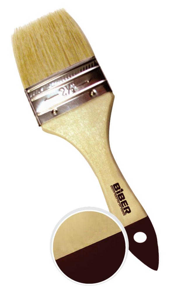 Кисть флейцевая Biber 2009 плоская кисть kraftool klassik 1 01013 25