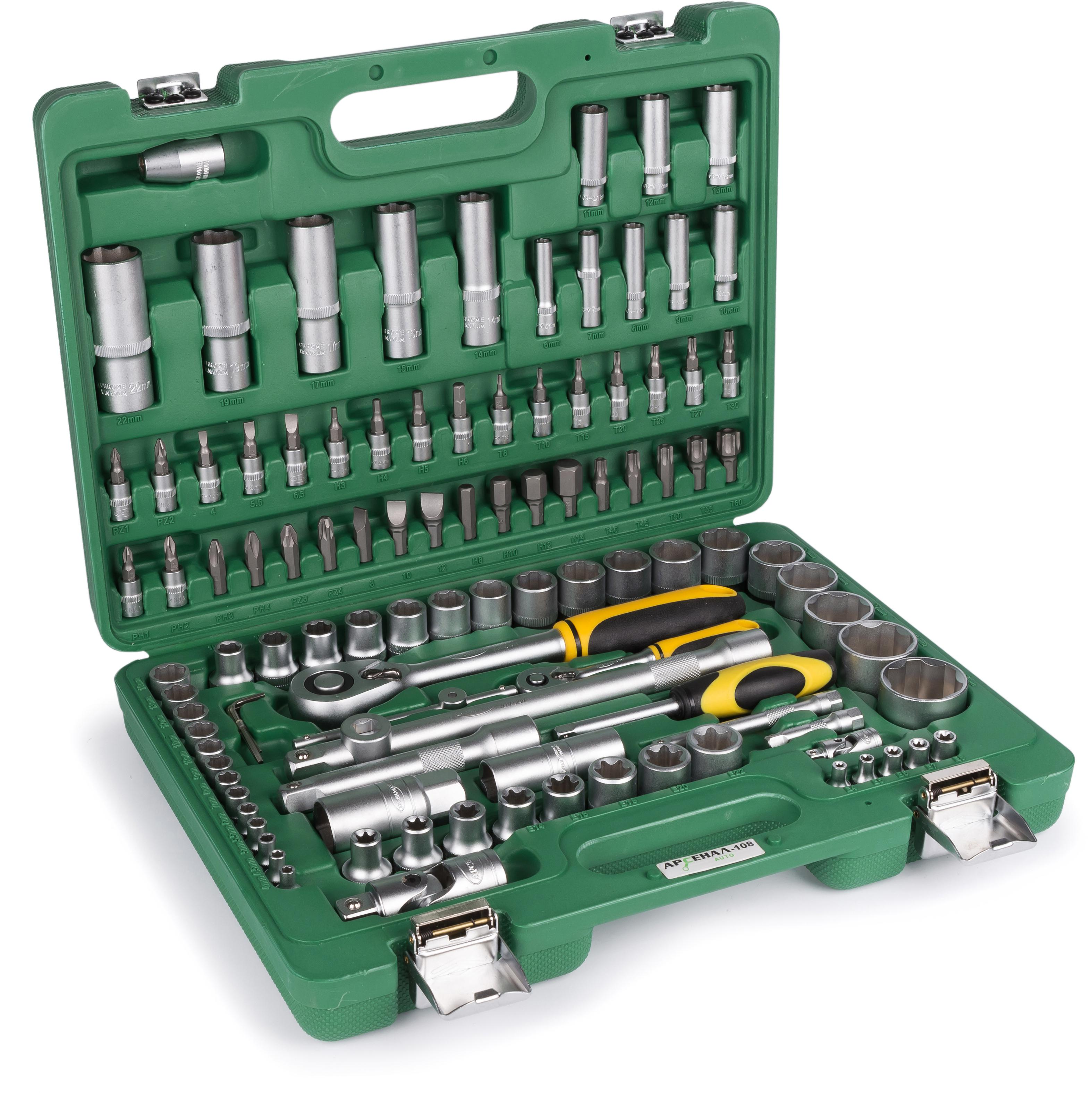 Набор инструментов АРСЕНАЛ Aa-c1412l108 набор инструмента арсенал aa c1412p94 для ваз