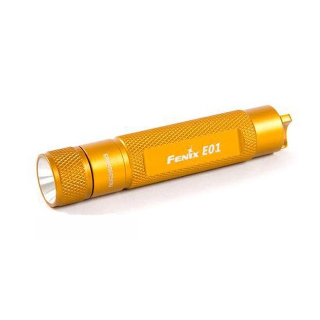 Фонарь Fenix E01 оранжевый fenix hl23 gold
