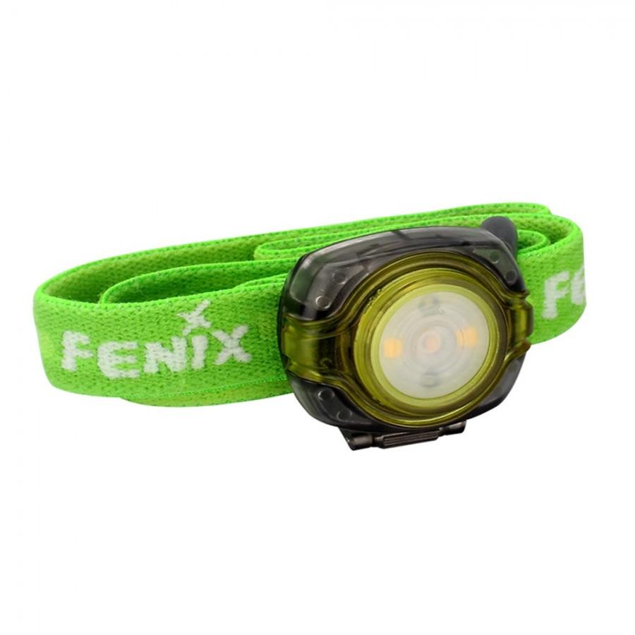 Фонарь Fenix Hl05 зеленый налобный фонарь fenix raptor hm65r