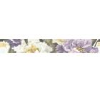Бордюр керамический INTERCERAMA БВ89051 Metalico фиолетовый 1шт