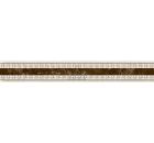 Бордюр керамический INTERCERAMA БУ66031 Emperador коричневый 1шт