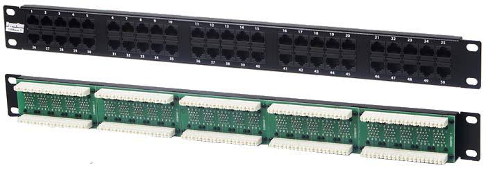 Патч-панель Hyperline 25001 микропроцессорная контрольная панель hyperline tmpc 230v ral9004