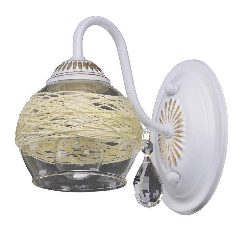 Бра МАКСИСВЕТНастенные светильники и бра<br>Тип: бра,<br>Назначение светильника: для спальни,<br>Тип лампы: накаливания,<br>Количество ламп: 1,<br>Мощность: 40,<br>Патрон: Е14<br>