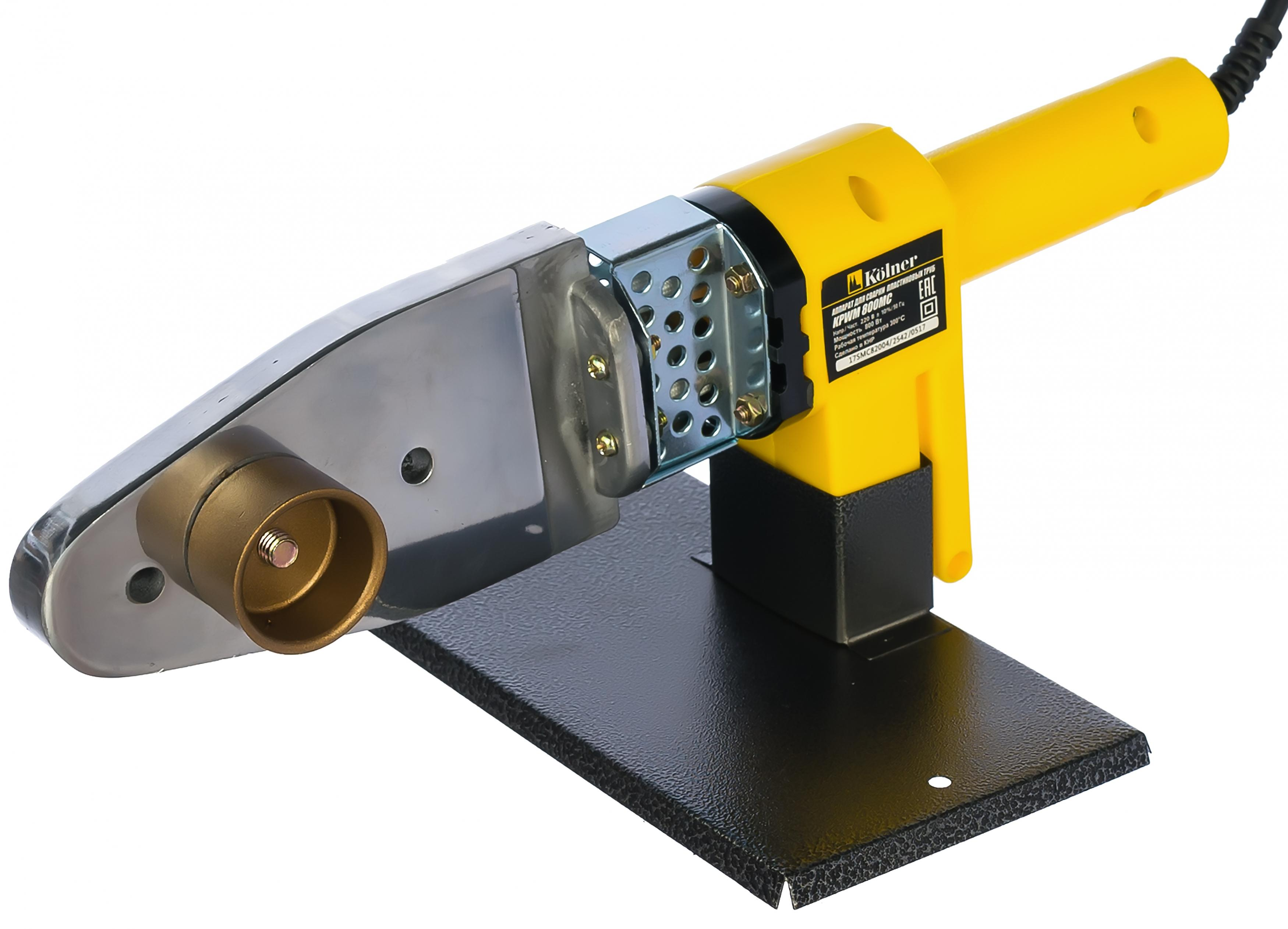 Аппарат для сварки пластиковых труб Kolner 800 Мc аппарат для сварки полипропиленовых труб bort brs 2000