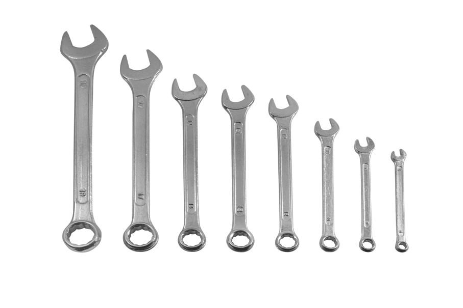 Набор ключей Kroft 210108 (6 - 19 мм) набор ключей kroft 210106 8 17 мм