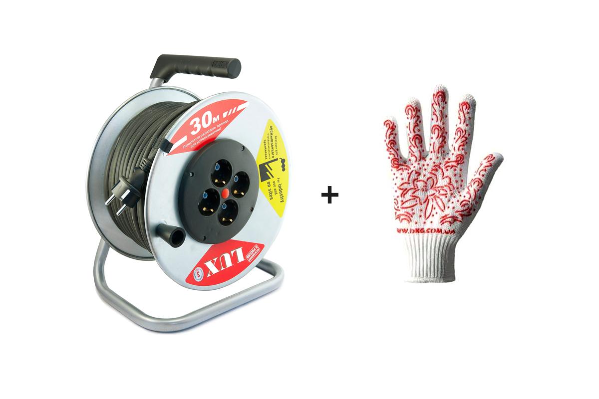 Набор: Удлиннитель Lux 44130 К4-Е-30 КГ набор удлинитель lux 44150 к4 е 50 кг page 2