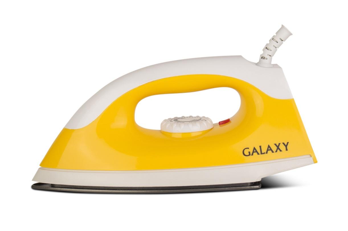 Утюг Galaxy Gl 6126 ЖЕЛТЫЙ утюг galaxy gl6122 синий