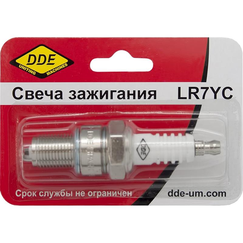 Свеча зажигания Dde Lr7yc грязевая мотопомпа dde ptr80h