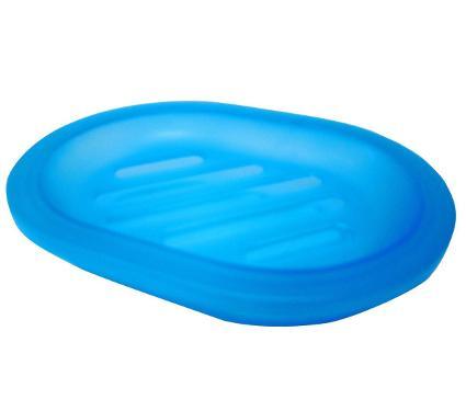 Мыльница пластиковая VANSTORE Summer Blue 373-04, синяя