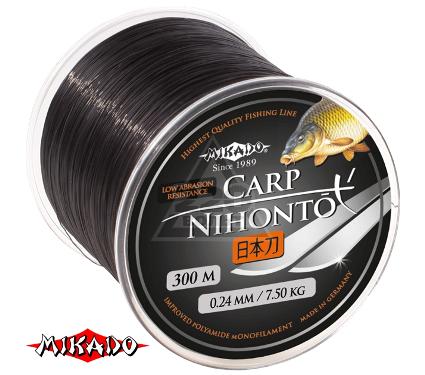 Леска MIKADO NIHONTO CARP 0.30