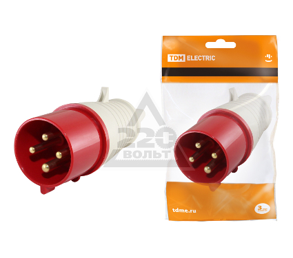Вилка кабельная TDM SQ0601-0002