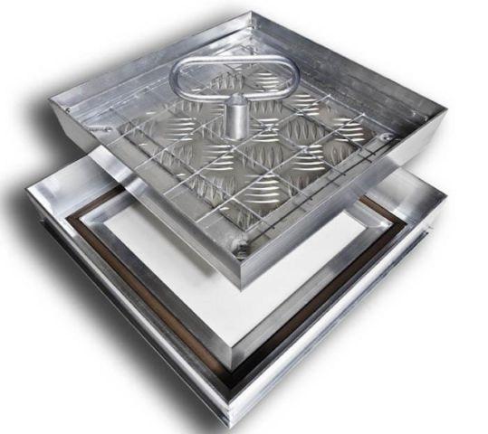 Люк ХАММЕР Премиум 1000х1000 с м рюмик 1000 и одна микронтроллерная схема выпуск 2