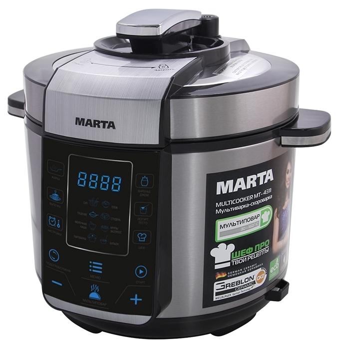 все цены на Мультиварка Marta Mt-4311 онлайн