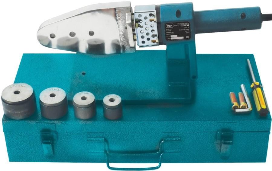Купить со скидкой Аппарат для сварки пластиковых труб Wert Wpt 1600