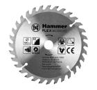 Диск пильный твердосплавный HAMMER 140х16мм 32 зуб.