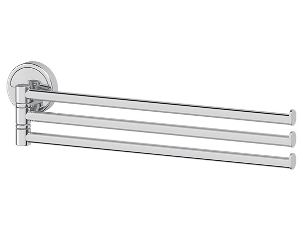 Полотенцедержатель Fbs Luxia lux 045 гарнитур для туалета fbs luxia цвет хром 2 предмета lux 059