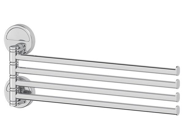 Полотенцедержатель Fbs Luxia lux 046 гарнитур для туалета fbs luxia цвет хром 2 предмета lux 059