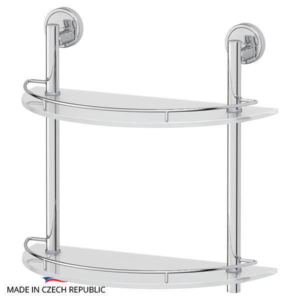 Полка FbsАксессуары для ванной комнаты<br>Назначение аксессуара: полка,<br>Цвет покрытия: хром,<br>Материал: металл,<br>Высота: 381,<br>Ширина: 400,<br>Глубина: 201,<br>Способ крепления: на стену<br>