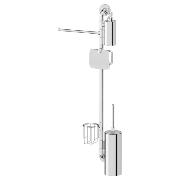 Штанга Ellux Elegance ele 079 штанга комбинированная для туалета с биде ellux elegance хром ele 076