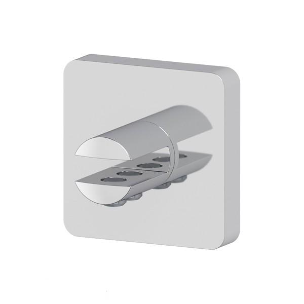 Держатель Ellux Avantgarde ava 032 держатель туалетной бумаги с крышкой и освежителя ellux avantgarde хром ava 069