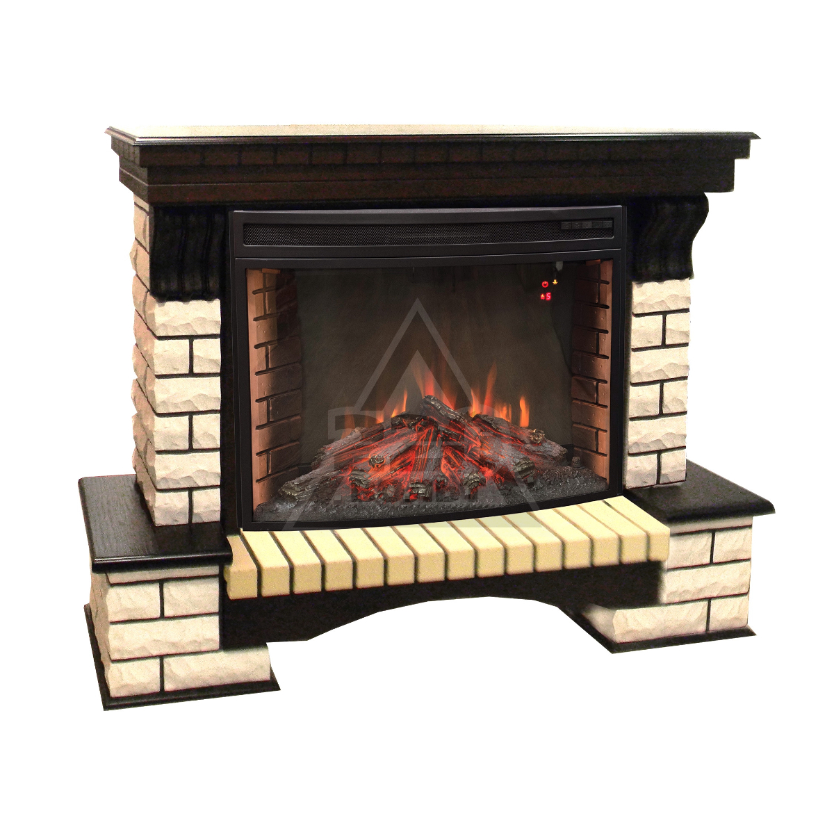 Электрокамины с эффектом живого огня и пламени 3D для дома | 1200x1200