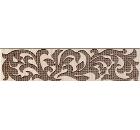 Бордюр керамический INTERCERAMA БШ01011 Venge Коричневый 40шт