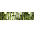 Бордюр керамический ROVESE (CERSANIT) JU1C021 Jungle Зелёный 20шт
