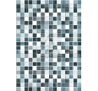 Декор керамический ROVESE (CERSANIT) MF2M041DT Motive Синий 15шт