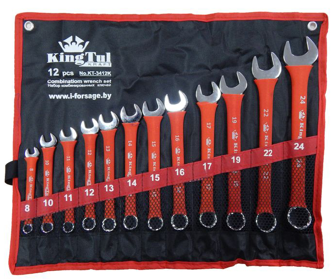 Набор ключей Kingtul 10241/kt-3412k (8 - 24 мм)  набор инструмента kingtul kt26