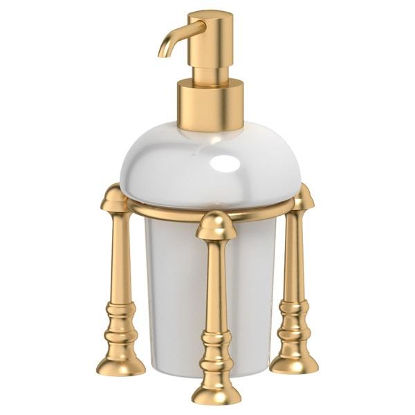 Дозатор для жидкого мыла 3sc Stilmar un (satin gold) sti 329 цена 2017
