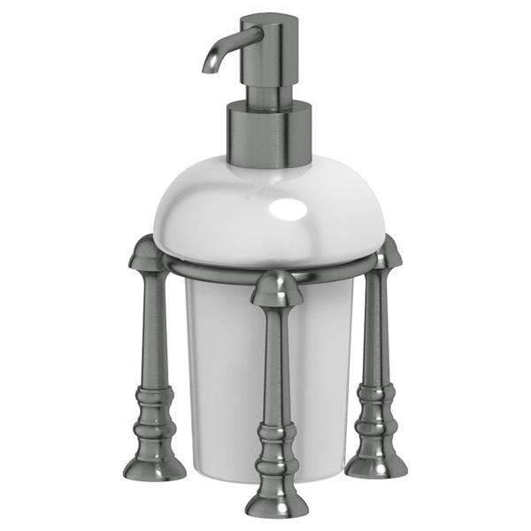 Дозатор для жидкого мыла 3sc Stilmar un (antic silver) sti 429