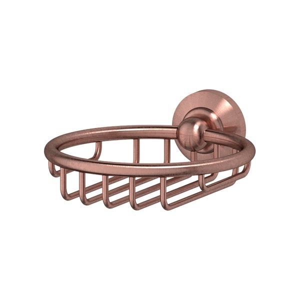 Мыльница 3sc Stilmar (antic copper) sti 606  полотенцедержатель кольцо 3sc stilmar antic copper sti 610