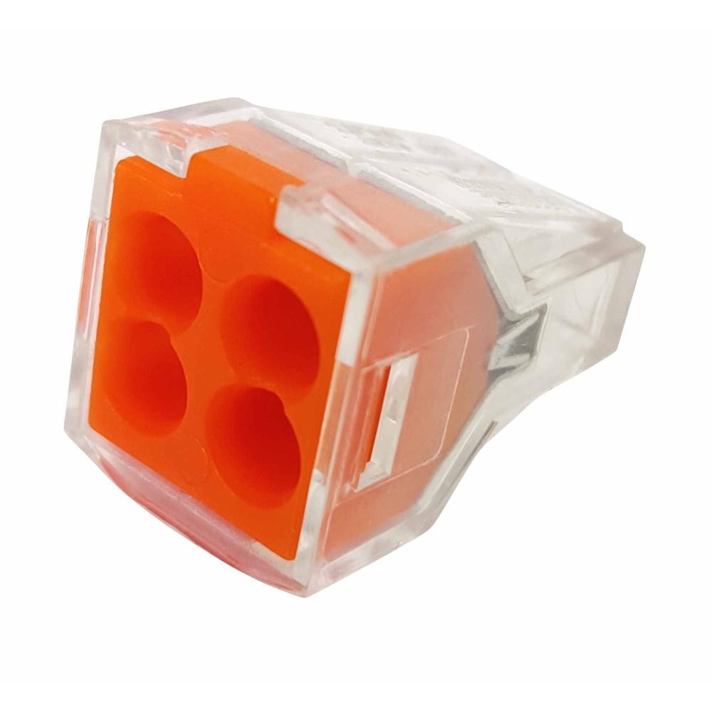Клемма BloxАксессуары для электромонтажа<br>Тип аксессуара: клемма, Степень защиты от пыли и влаги: IP 20, Количество гнезд: 4<br>