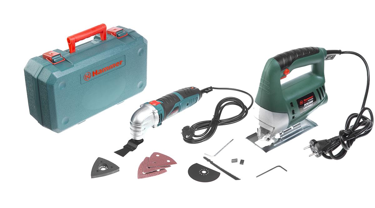 Набор Hammer МФИ hammer lzk500s premium + лобзик hammer flex lzk500le лобзик электрический hammer flex lzk650l