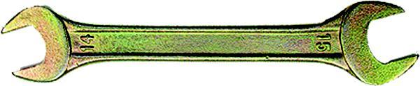 Ключ СИБРТЕХ 14301 (6 / 7 мм) ключ рожковый 6х7 fit 63491 6 7 мм