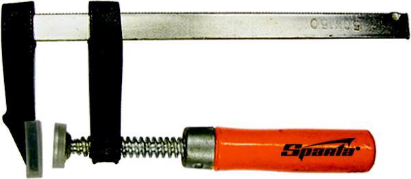 Струбцина Sparta 204295 струбцина stayer f образная 50х250мм 3210 050 250
