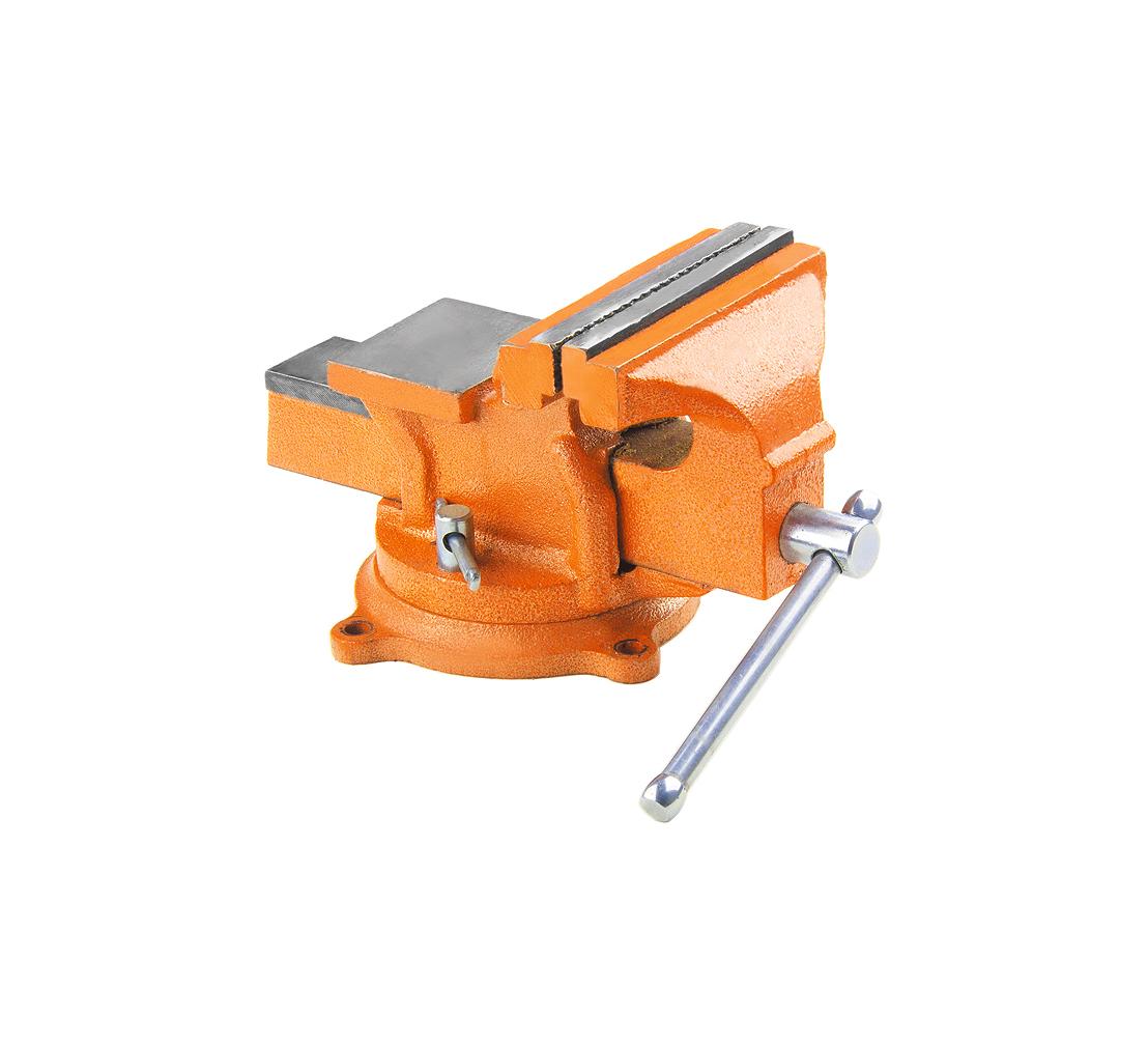 Тиски поворотные SPARTA 186255, 125 мм с наковальней