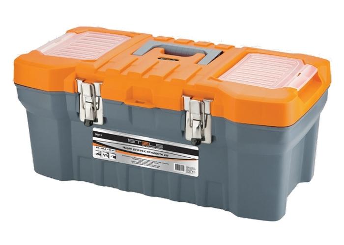 Ящик Stels 90713 ящик stels 90706 для инструмента 590х300х300мм 24 пластик