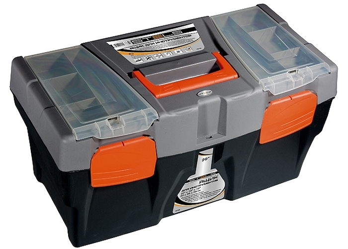 Ящик Stels 90706 ящик stels 90706 для инструмента 590х300х300мм 24 пластик