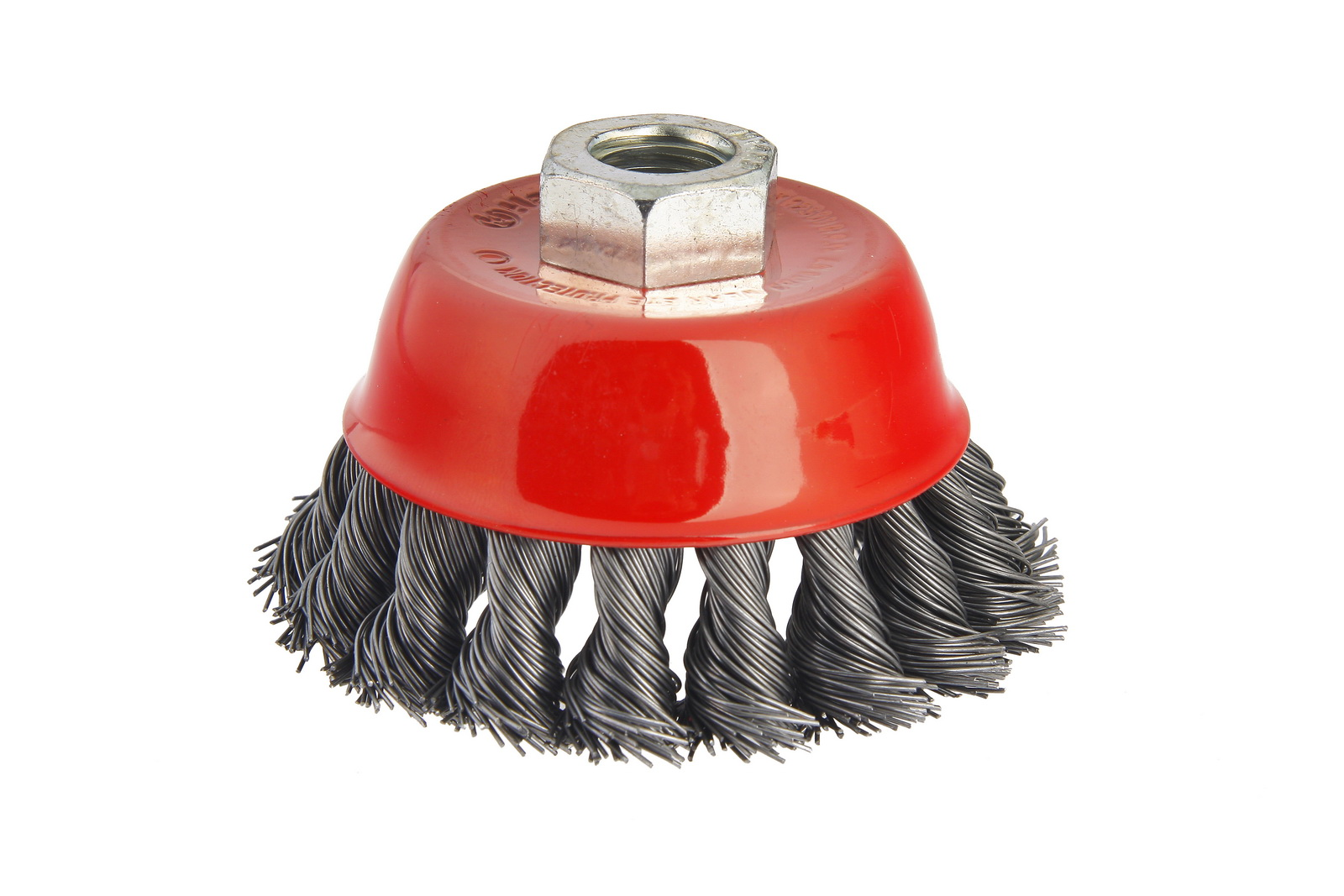 Кордщетка Hammer 207-106  85*0,5*m14  чашеобразная жесткая
