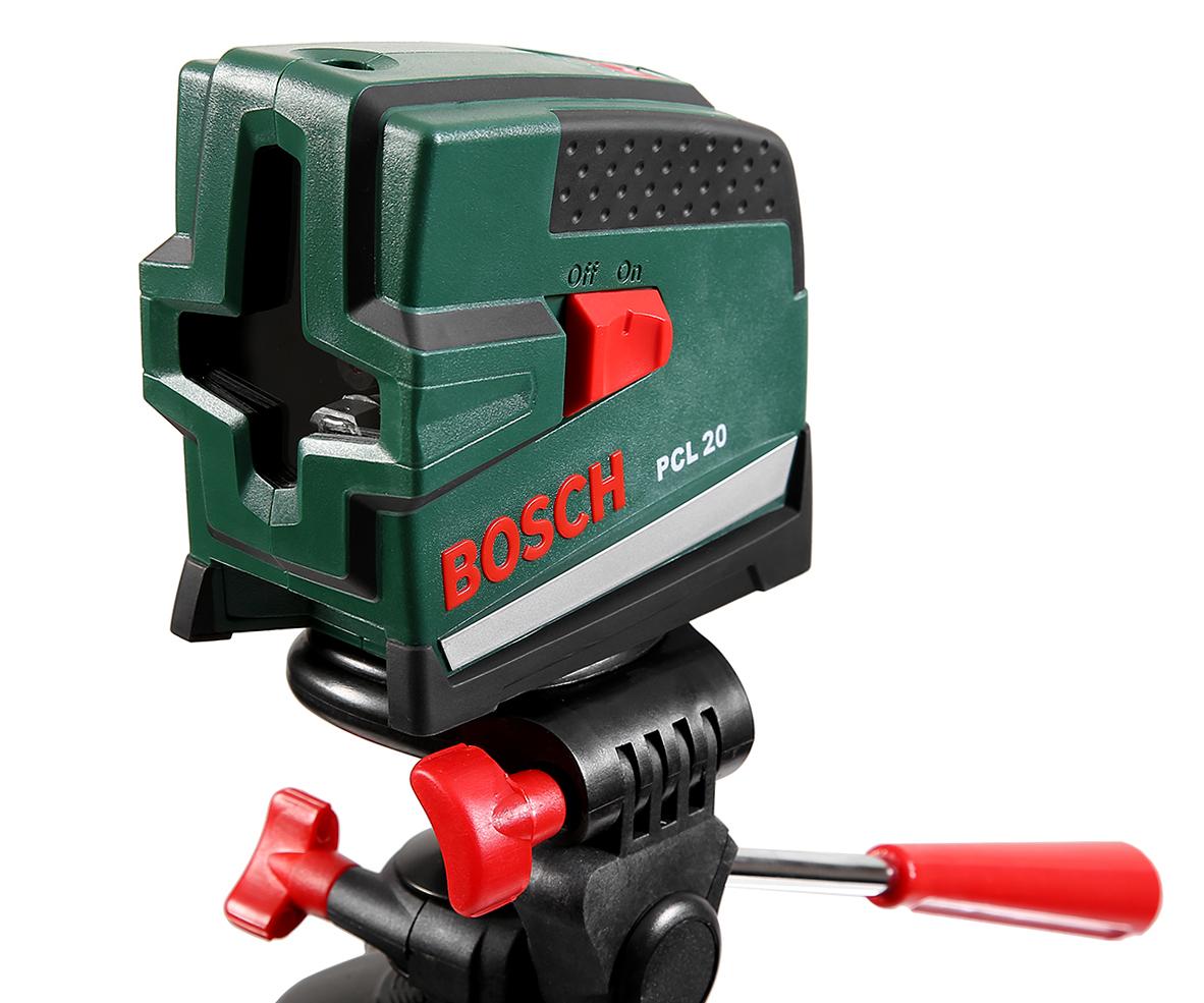Купить Уровень Bosch Pcl 20 set + ШТАТИВ (0.603.008.221), Малайзия