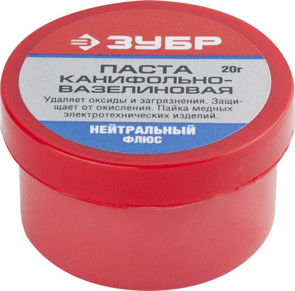 Паста ЗУБР 55475-020 флюс зубр 55477 020
