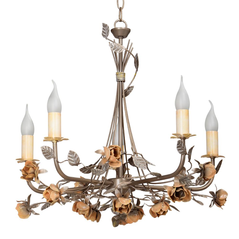 Люстра Vitaluce V1083/5 lucesolara люстра lucesolara 8001 5s цоколь е14 40w gold cream металл стекло 5 ламп