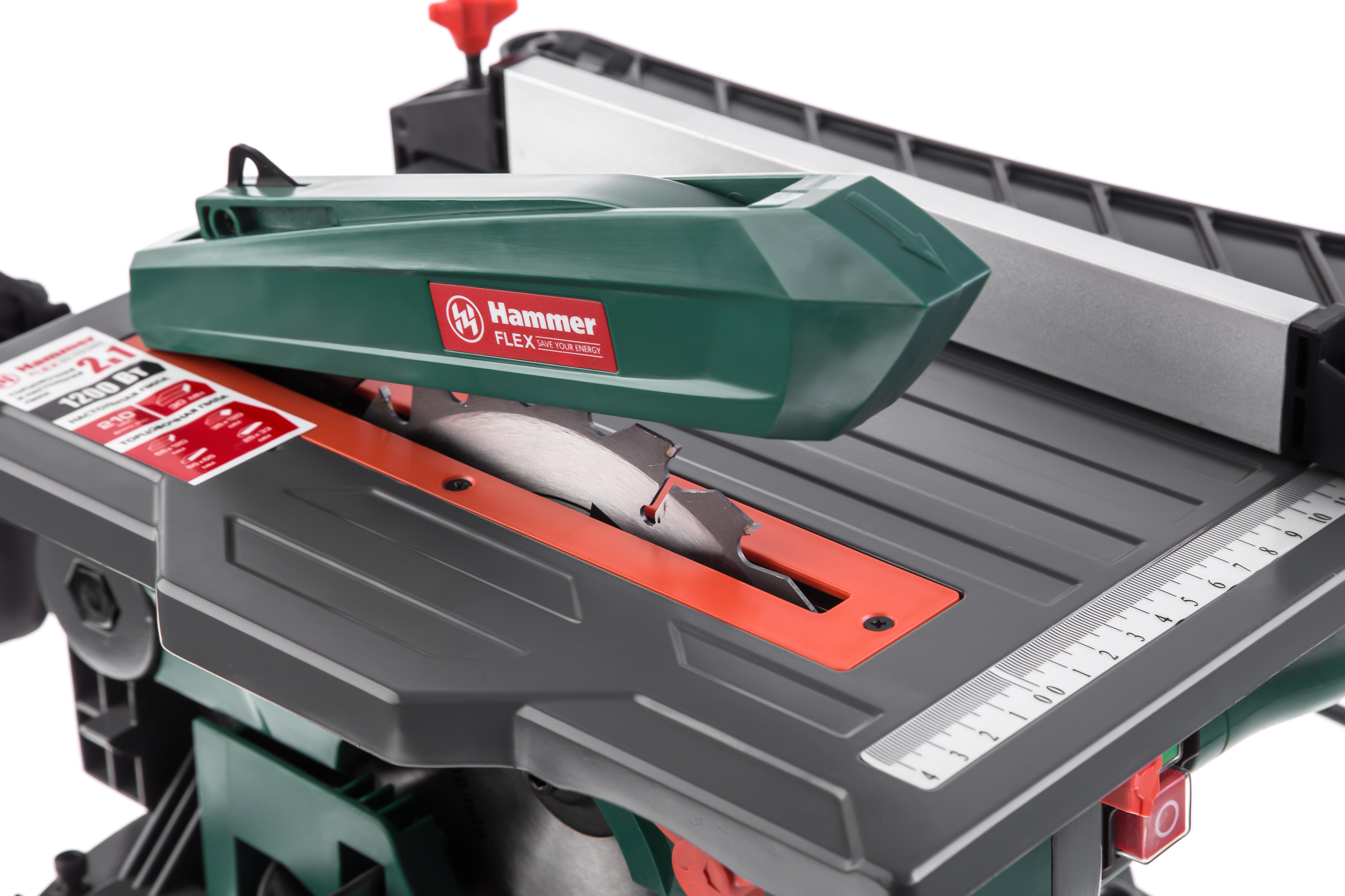 Пила торцовочная Hammer Stl1200/210c