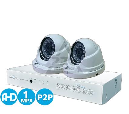 Комплект видеонаблюдения IVUE D5004 AHC-D2