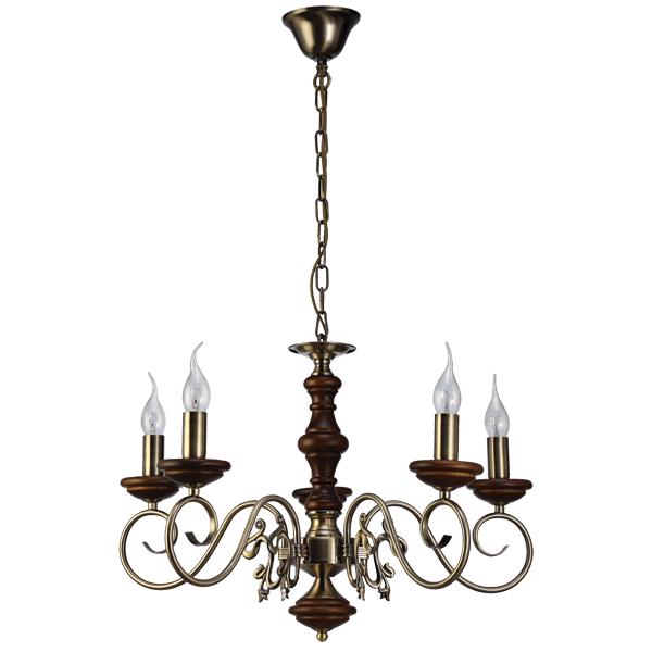 Люстра Natali kovaltseva Luxury wood 11357/5c antique,walnut люстра natali kovaltseva luxury wood 11357 5c white oak waln
